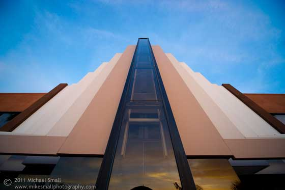 Architectural photography of a building in Scottsdale, AZ
