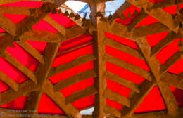 Photo of Paolo Soleri's Cosanti in Paradise Valley, AZ