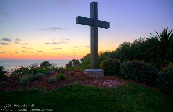 Photo of Point Loma Nazarene University at sunset