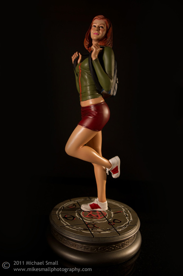 Photo of the Willow, from Buffy the Vampire Slyaer, collectible statue from Sideshow Toys