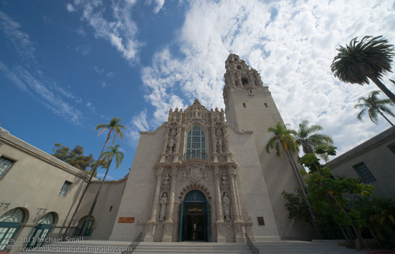 Photograph of the Museum of Man in Balboa Park San Diego