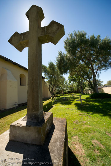 Image of Santa Ines Mission in California