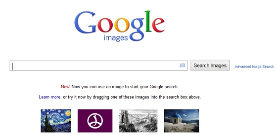 Screen shot of Google's reverse image search