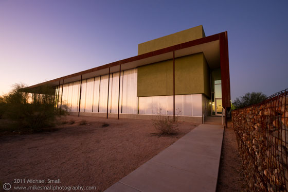 Photograph of the Desert Broom Library in Phoenix