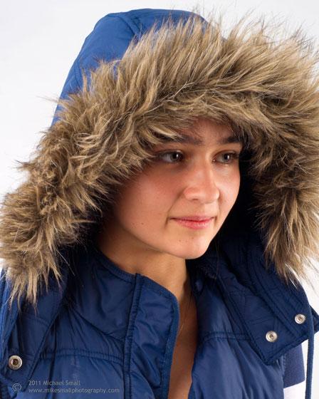 Teenage girl portrait photography