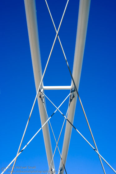 Photo of the Tempe Town Lake Pedestrian Bridge