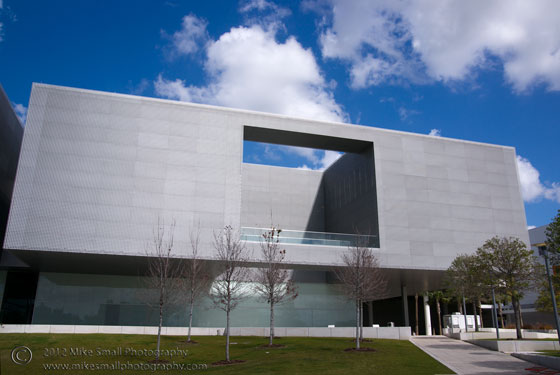 Architectural photography of the Tampa Museum of Art