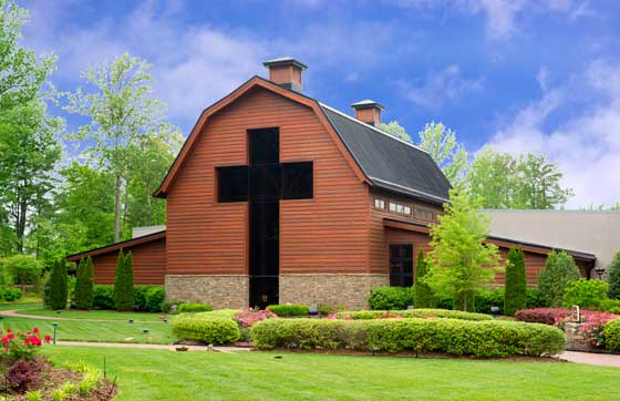 Photo of the Billy Graham Library in Charlotte, NC
