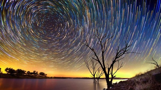 Lincoln Harrison's Star Trail Photography