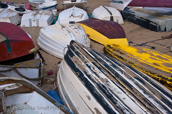 Boats Rowed Ashore